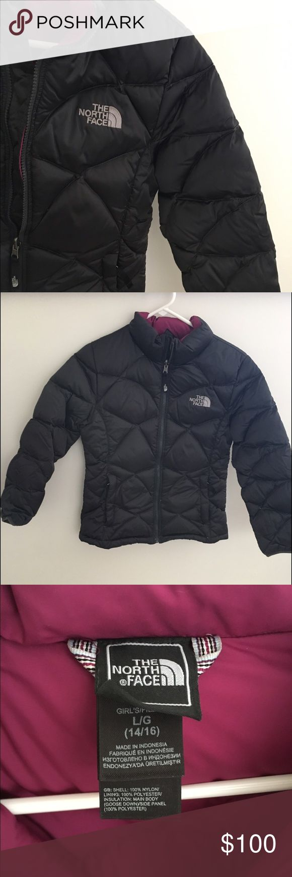North face winter jacket size LG (14/16) Super warm and comfy jacket, great condition, only worn a couple times, price is negotiable North Face Jackets & Coats