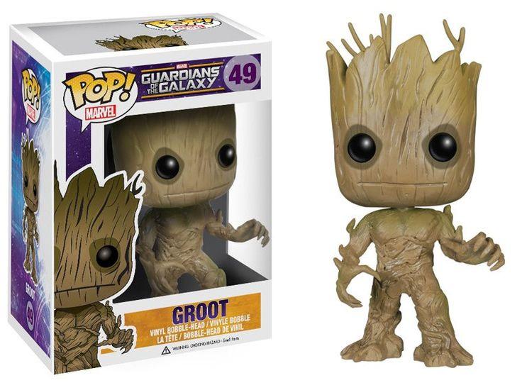Guardians of the Galaxy POP! Vinyl Figur Groot 10 cm  Guardian of the Galaxy - Hadesflamme - Merchandise - Onlineshop für alles was das (Fan) Herz begehrt!
