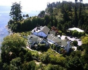 Sooke Harbour House on Vancouver Island