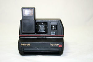 Polaroid One Step Impulse SE Instant Camera with Pop-up Flash ***Works***