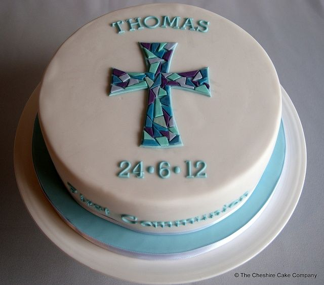 first communion cakes boys - Google Search
