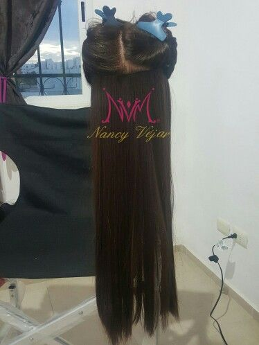 Hair extensions Cancún