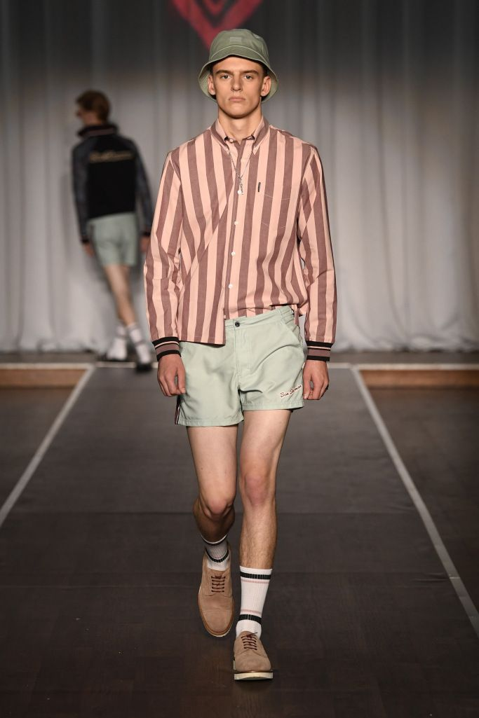 613249dd6637b Ben Sherman Spring Summer 2019 Men's Ready-to-Wear Collection   '90s ...