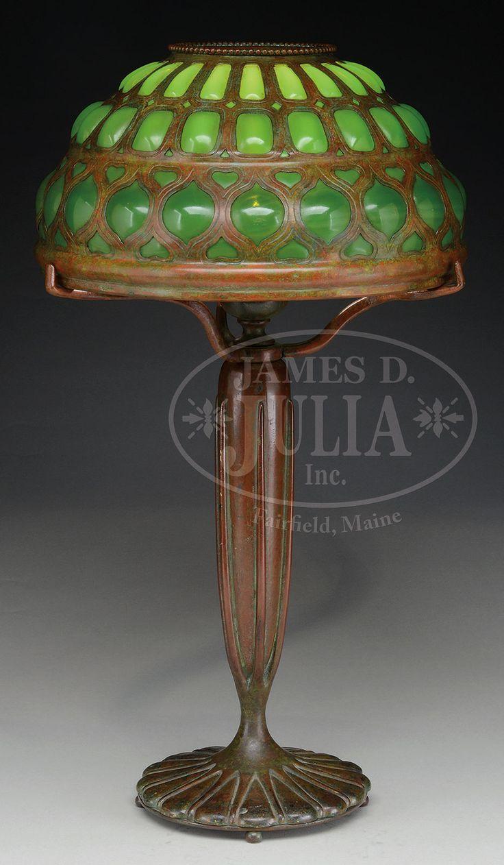 Tiffany Studios Blowout Lamp.