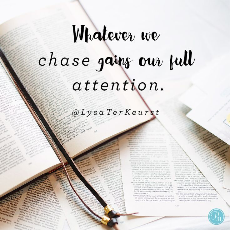 """Seeking — really seeking — is more than just reading a few verses from the Bible in the morning and trying to be a good person that day. Seeking requires me to sacrifice the things I feel compelled to chase so I can be available to notice God's clear direction."" - Lysa TerKeurst 