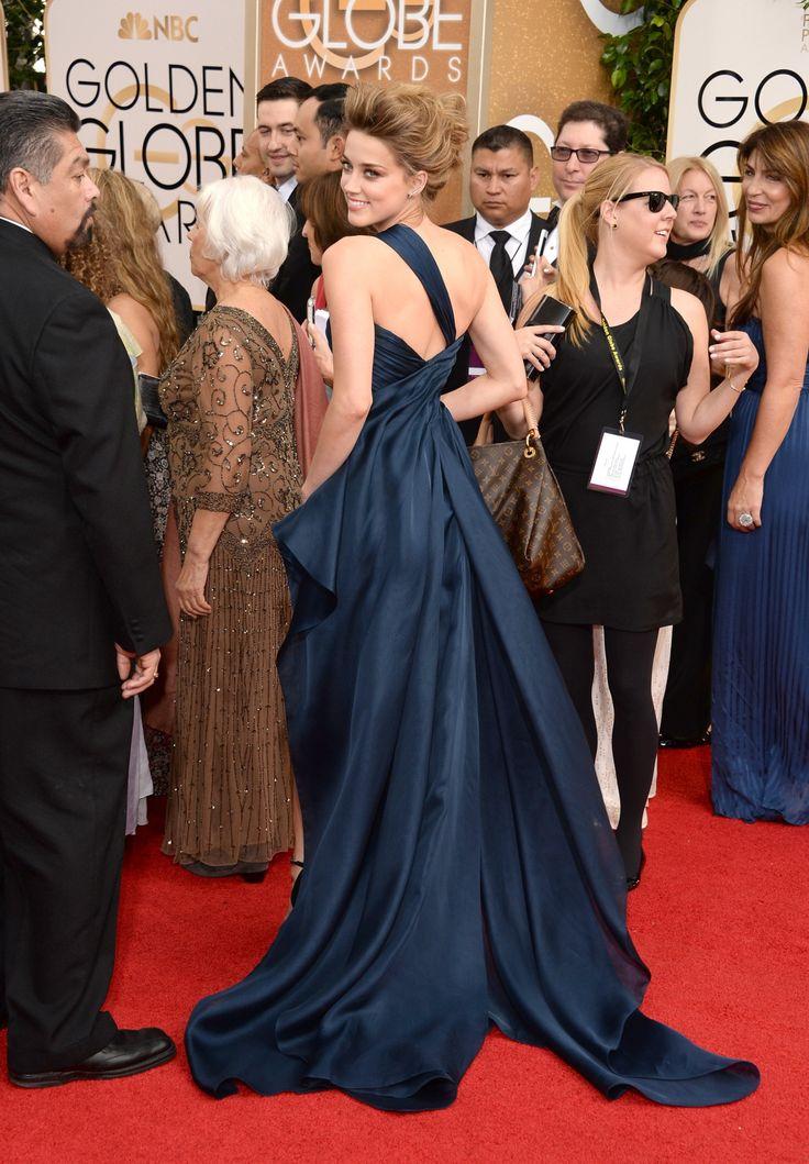 Amber Heard – 71st Annual Golden Globe Awards 1/12/14