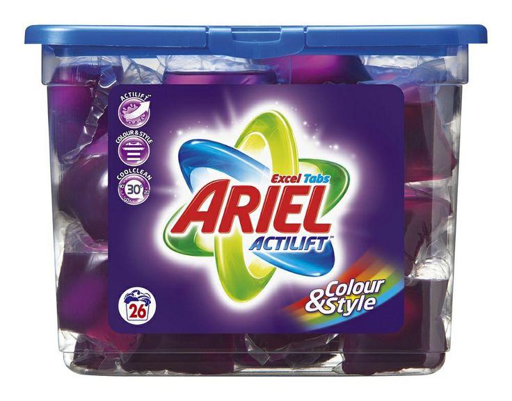ARIEL Actilift Excel Colour Pyykinpesunestetabletti 26 kpl - 5,85e