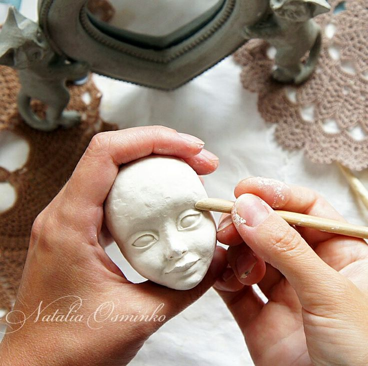 Creating a doll. Process