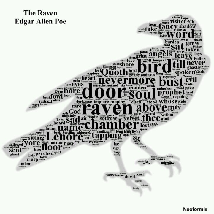 despair and gloominess in edgar allan poes the raven Edgar allan poe was an american poes use of a depressing and negative setting for the raven illustrates his despair and gloominess edgar allen poe was.