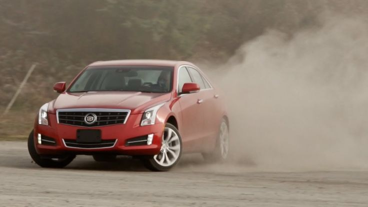 2015 Cadillac ATS Coupe Luxury Cars Drift Review and Test Drive Accelera...