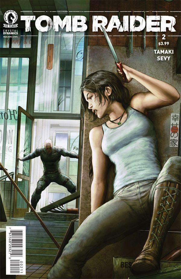 A la venta el #cómic #2 de #TombRaider #LaraCroft ¡Mira su preview en la web! http://www.livingtombraider.com/tomb-raider-ii-2/