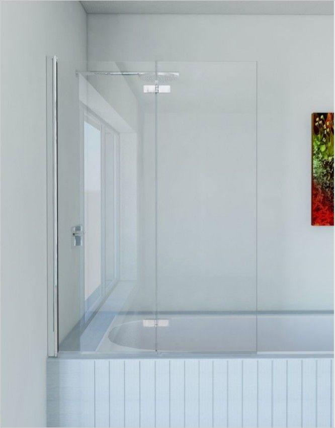 Matki Shower Enclosures - Folding Bath Screen 1100mm GG