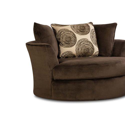 Found it at Wayfair - Leesburg Swivel Barrel Chair