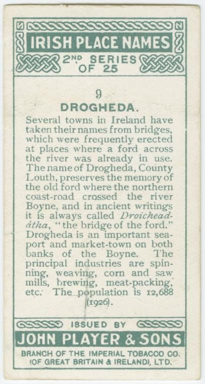 Drogheda, Droichead-átha, the bridge of the ford. - NYPL Digital Collections