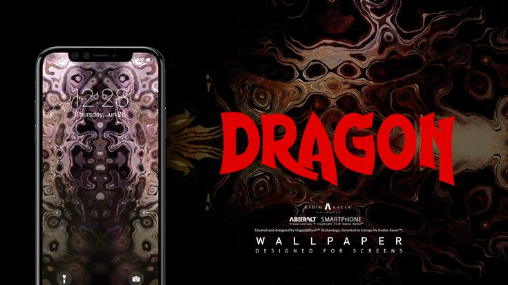 #DRAGON - COMING SOON #Abstract #Wallpaper for Smartphone. www.radimkacer.co... ...