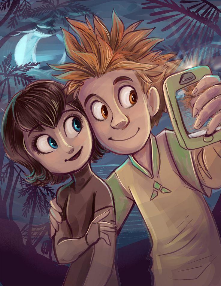 Jonathan and Mavis by sharpie91.deviantart.com on @deviantART