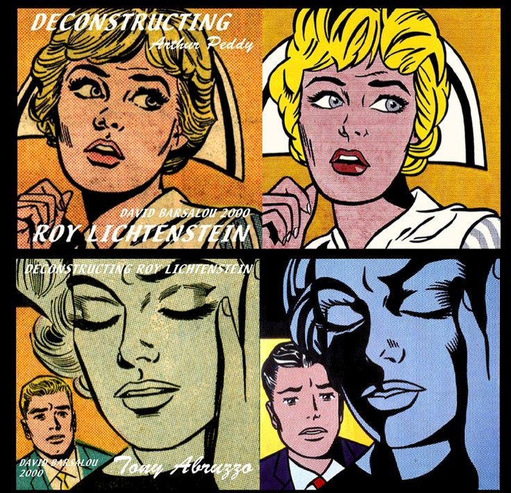Roy Lichtenstein, le banal sublimé Pop art roy