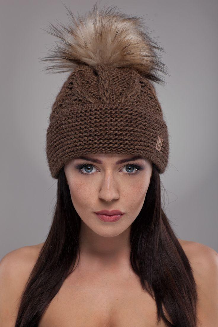 Ulter czapki - Model 18 #ulter #caps #woll #winter #inspiration #fashion