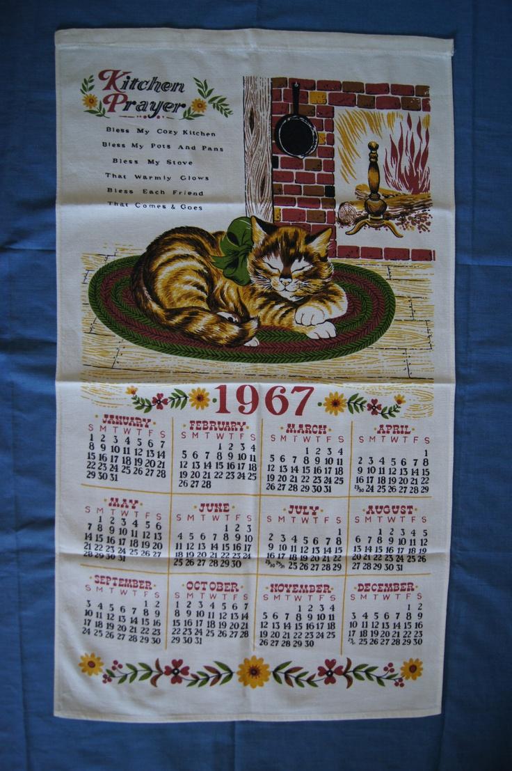 Tea Towel Calendars