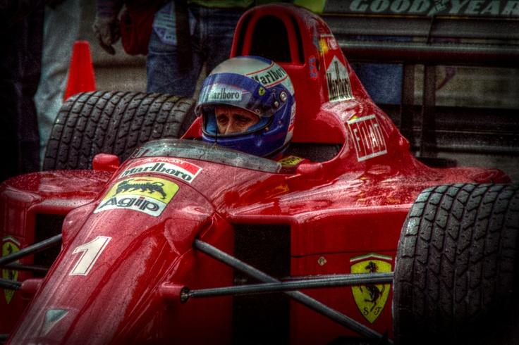 Alain Prost, Ferrari.
