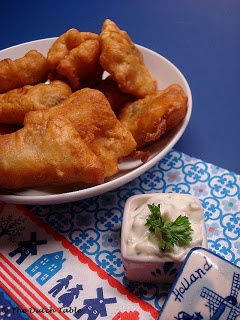 The Dutch Table: Kibbeling (Dutch Fried Cod)