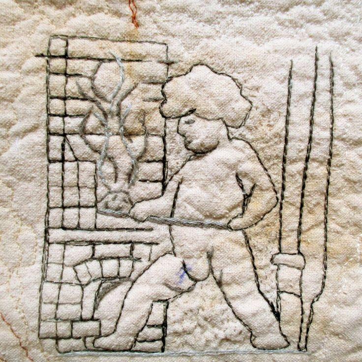 Good morning world! Another hard working little boy from our architecture. Stay warm on this cold and dreary day :) . . . . #textileart #BozenaWojtaszek #mojalodz #igerslodz #Łódź #ldz #urbanexploration #Jaracza #seemycity #weheartlodz #lodzkidetal #architecturelovers #discoverlodz #architecturaldetail #arquitetura #putti #putto #metallurgist #history #urbanwalls #urbanexplorer #urbanarchitecture #craftsmanship #cmwl #fiberart #tkanina #Lodz2005
