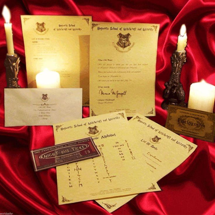 25+ beste ideeën over Hogwarts acceptance letter op Pinterest - hogwarts acceptance letter