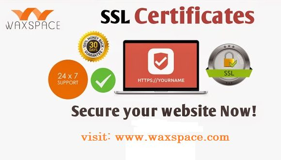 Get SSL Certificates to secure websites, intranets, and extranets for e-commerce and confidential communications. Waxspace offers #cheap #SSL #Certificate in #USA. Visit: https://waxspace.com/cheap-ssl-certificate/