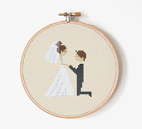 Wedding Cross Stitch pattern Cross Stitch by PatternStitchShop