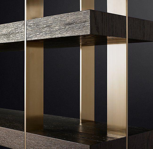 Verrazano Shelving Bookcase Design Midcentury Modern Shelves