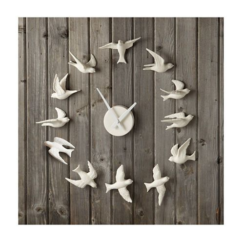 FREE SHIPPING AVAILABLE! Buy Porcelain Bird Wall Clock at JCPenney.com today and enjoy great savings. Available Online Only!