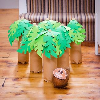 Prev12 of 18Next Game. Play a game of bowling by turning toilet paper rolls into palm trees. Source: Disney Inspired Prev12 of 18Next