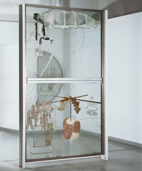 Marcel Duchamp, The Bride Stripped Bare by Her Bachelors