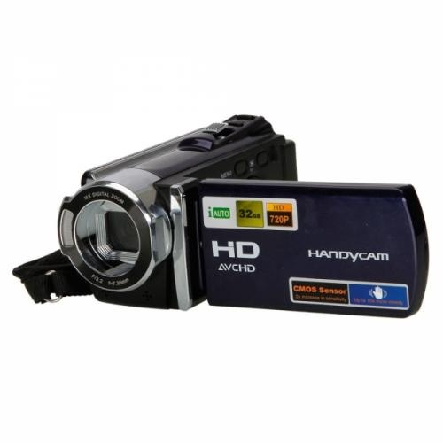 3.0  Camcorder Blue    This camera comes with a 5 million pixel CMOS sensor, 3.0 in LCD, 16MP LCD display, F/3.2(f=7.36mm) lens, 16x digital zoom, -2.0 ~ +2.0 exposure, ( 4608 x 3472 )Pixel( 16 MP),( 4032 x 3000 )Pixel( 12 MP) image resolution options and .....