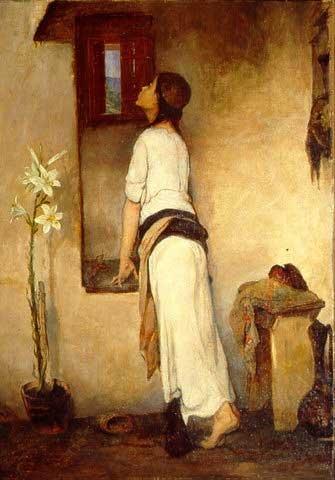 Nikiforos Lytras-Girl at window