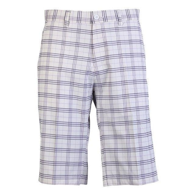PGM Men Golf Plaid Shorts Thin Breathable Wicking Quick Dry XXXL