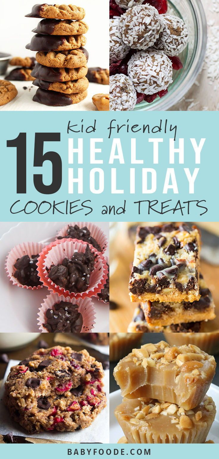 15 Healthier Holiday Cookies Treats For Toddlers Kids Toddler