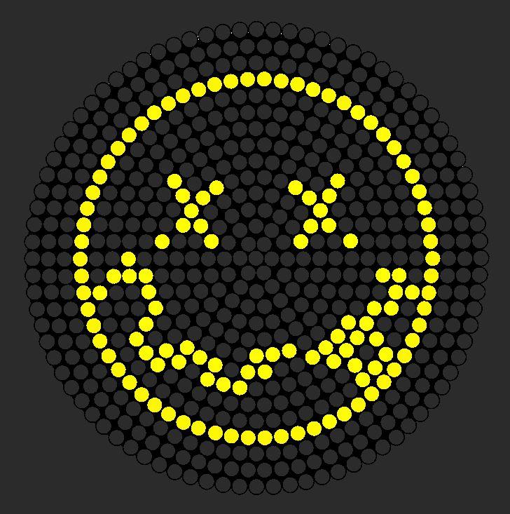 Nirvana Logo Perler Bead Pattern / Bead Sprite