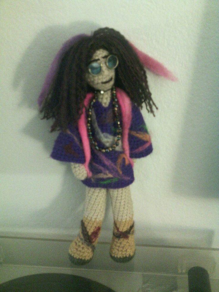 Janis Joplin. Crochet