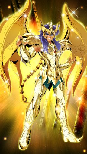 Scorpion Milo(God Cloth)-Saint Seiya -Zodiac Brave by FernanDohko