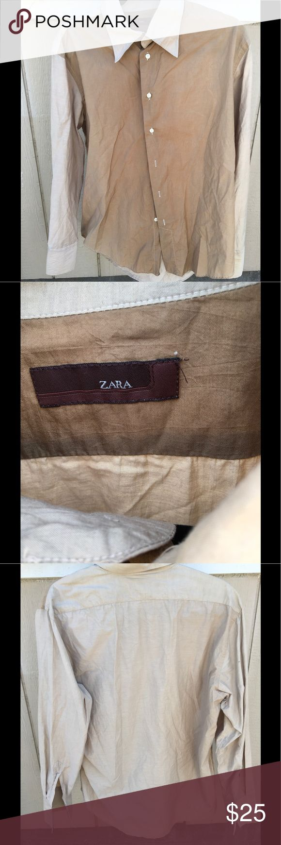 Zara Button Down Shirt Zara Button Down Shirt, no flaws Zara Shirts Casual Button Down Shirts