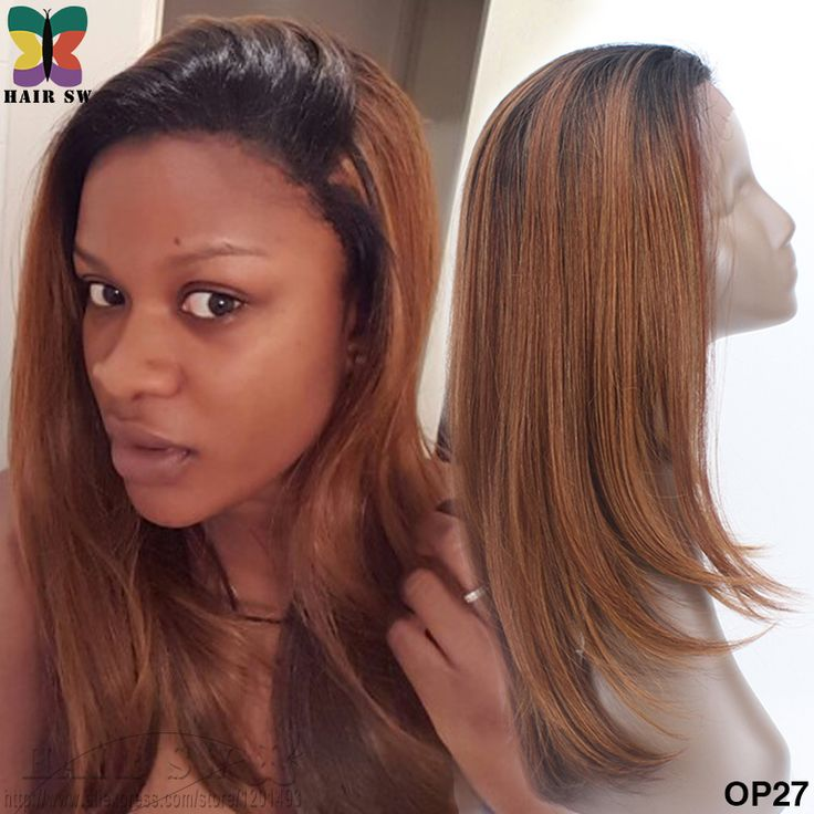 FREETRESS EQUAL Kanekalon Synthetic lace front wig Heat Resistant Natural Straight Brown Sugar Glueless invisible Hair line wig for black women