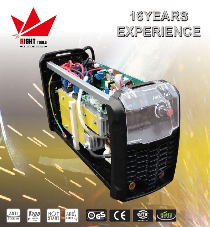 110V/220V 180amp arc inverter portable welder double voltage welding