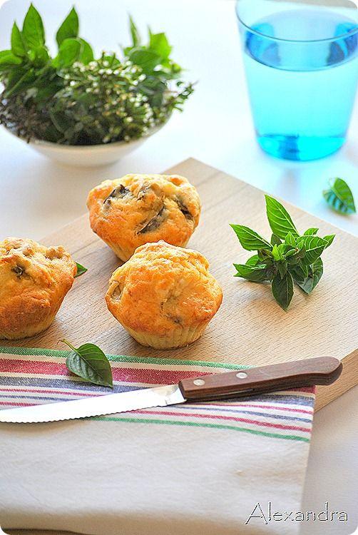 Μα...γυρεύοντας με την Αλεξάνδρα: Muffins μελιτζάνας