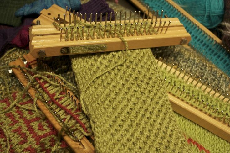 Free Knitting Board Patterns Fun with the Knitting Board Rain Weaver Pi...