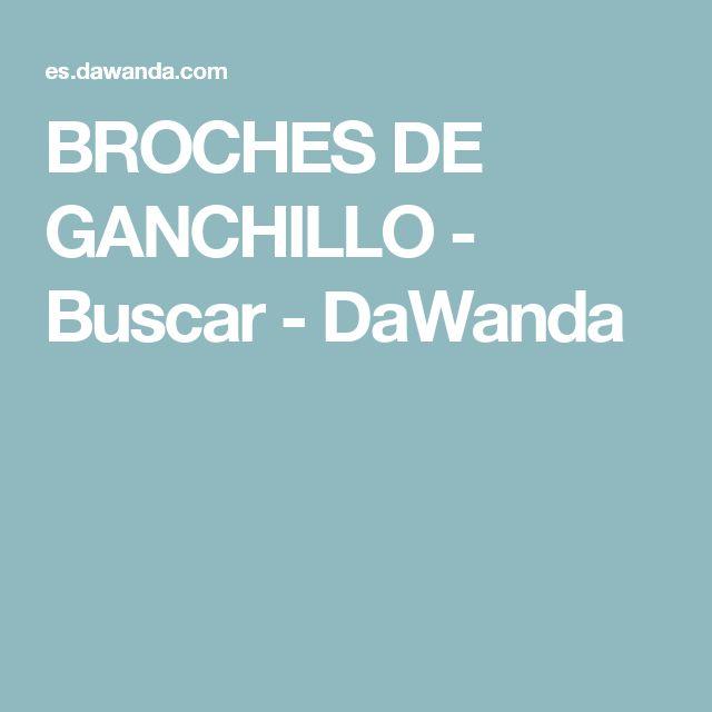 BROCHES DE GANCHILLO - Buscar - DaWanda