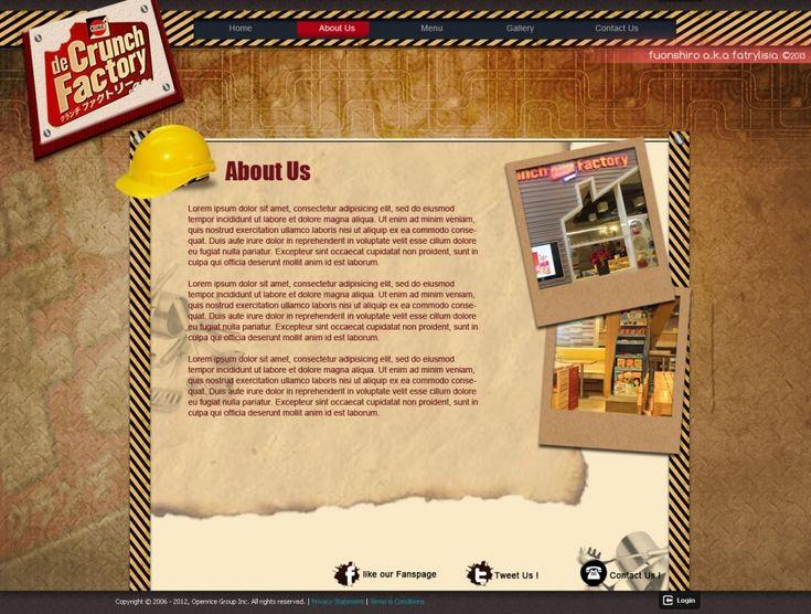 Web Design | De Crunch Factory | Kreavi.com