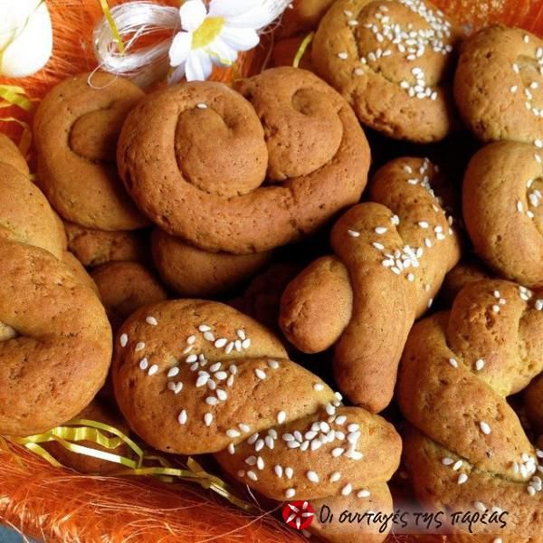 Aromatic orange-cinnamon koulourakia #cooklikegreeks #koulourakia #cookies
