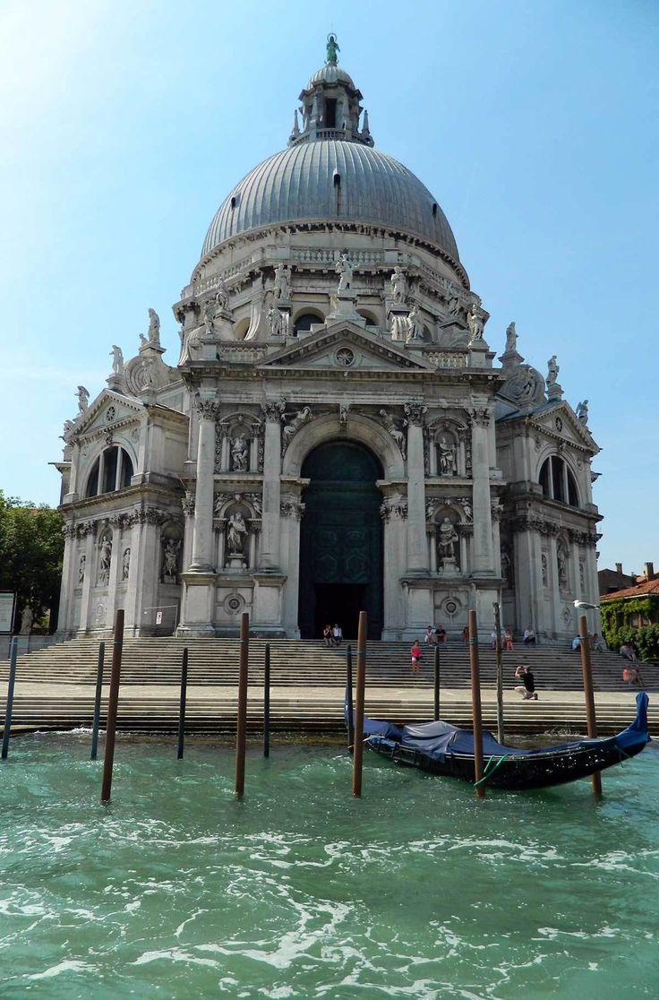 Basílica de Santa Maria De La Salute, Veneza, Itália