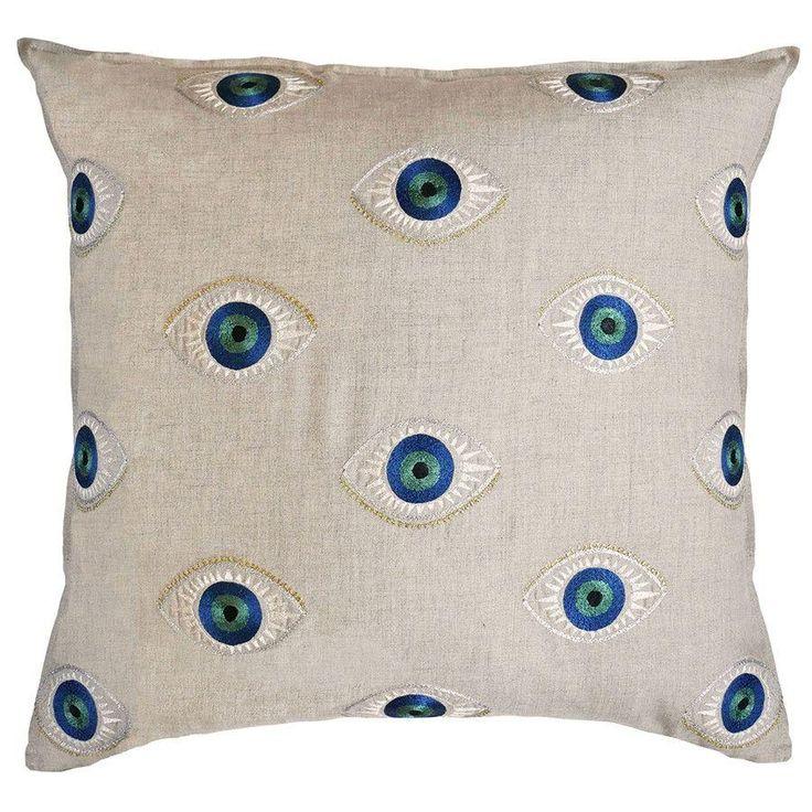 Evil Eye Pillow 253 best Throw Pillows